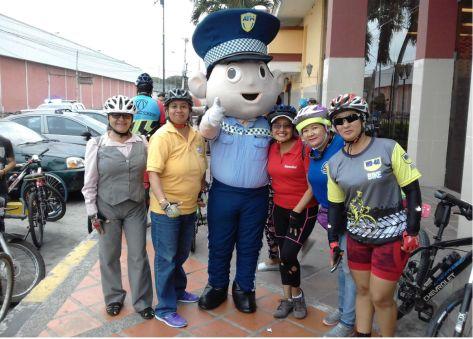 1 ciclopaseo Dia Mundial sin Auto 22 sep 18 Guzman